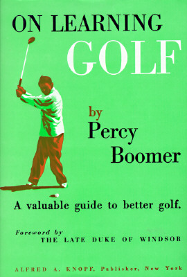 On Learning Golf: A Valuable Guide to Better Golf Cover Image