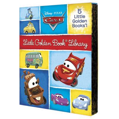 Cars Little Golden Book Library Cover