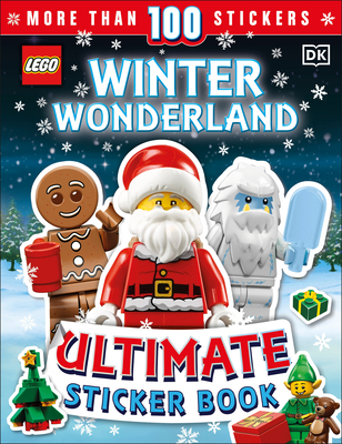 LEGO Winter Wonderland Ultimate Sticker Book: With More than 100 Festive LEGO® Stickers! Cover Image