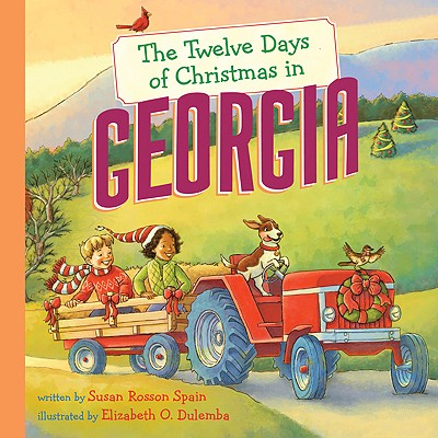 The Twelve Days of Christmas in Georgia Cover