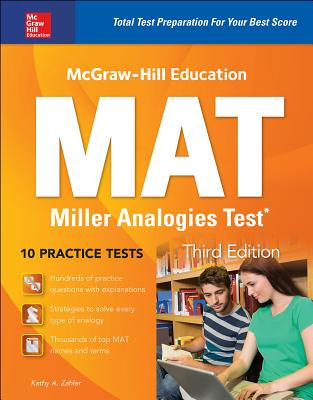 McGraw-Hill Education Mat Miller Analogies Test, Third Edition Cover Image