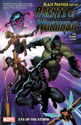 Black Panther and the Agents of Wakanda Vol. 1: Eye of the Storm Cover Image