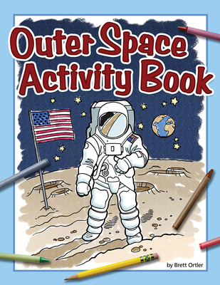 Outer Space Activity Book (Color and Learn) Cover Image
