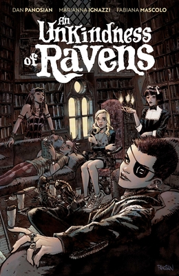 Cover for An Unkindness of Ravens