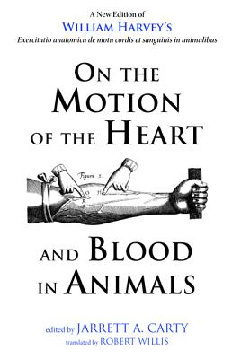 On the Motion of the Heart and Blood in Animals Cover Image