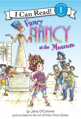 Fancy Nancy at the Museum (I Can Read Fancy Nancy - Level 1 (Hardback)) Cover Image