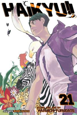 Haikyu!!, Vol. 21, Volume 21: A Battle of Concepts Cover Image