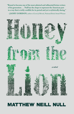 Cover for Honey from the Lion