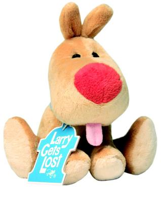 Larry Gets Lost Plush Doll Cover Image