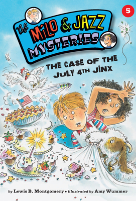 The Case of the July 4th Jinx Cover