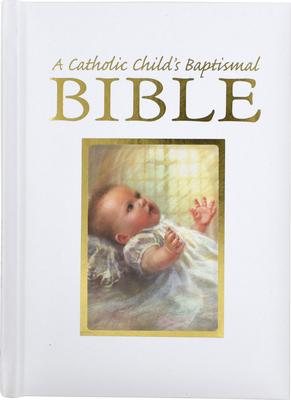 Catholic Child's Baptismal Bible-OE Cover Image