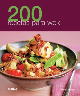 200 recetas para wok Cover Image