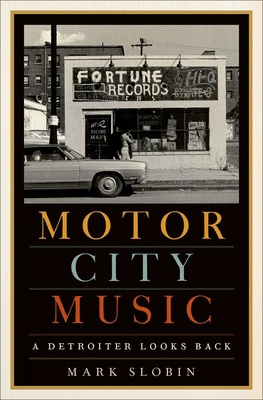 Motor City Music: A Detroiter Looks Back Cover Image