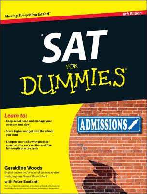 SAT for Dummies Cover