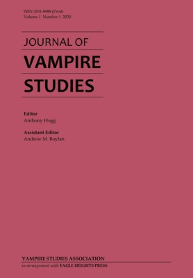 Journal of Vampire Studies: Vol. 1, No. 1 (2020) Cover Image