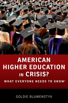 American Higher Education in Crisis? Cover