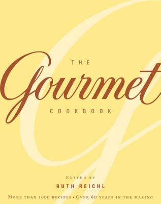 The Gourmet Cookbook Cover