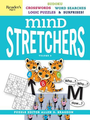 Reader's Digest Mind Stretchers Puzzle Book Vol. 6 (Mind Stretcher's #6) Cover Image