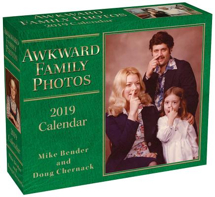 Awkward Family Photos 2019 Day-to-Day Calendar Cover Image