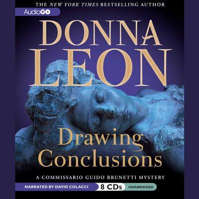 Drawing Conclusions Lib/E (Commissario Guido Brunetti Mystery) cover
