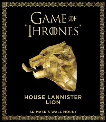 Game of Thrones Mask: House Lannister Lion (3D Mask & Wall Mount) Cover Image