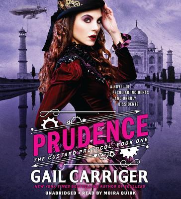 Prudence Lib/E (Custard Protocol) Cover Image