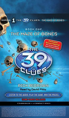 The 39 Clues #1: The Maze of Bones - Audio Library Edition Cover Image