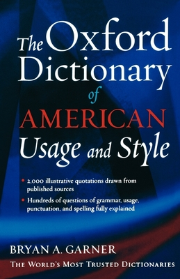 The Oxford Dictionary of American Usage and Style Cover Image