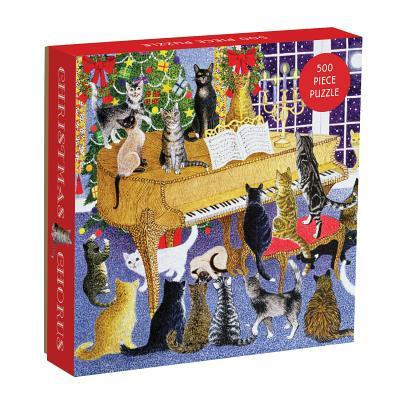 Christmas Chorus 500 Piece Puzzle Cover Image