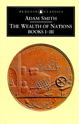 The Wealth of Nations: Books 1-3 Cover Image