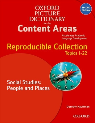 Oxford Picture Dictionary for the Content Areas Reproducible: Social Studies People & Places Cover Image