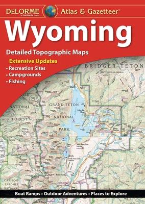 Delorme Atlas & Gazetteer: Wyoming Cover Image