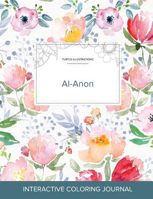 Adult Coloring Journal: Al-Anon (Turtle Illustrations, La Fleur) Cover Image