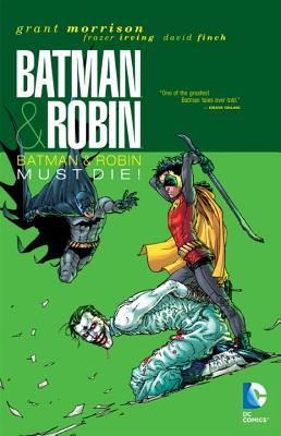 Batman & Robin Must Die! Cover