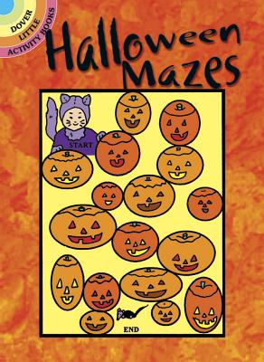 Halloween Mazes (Dover Little Activity Books) Cover Image
