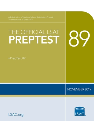 The Official LSAT Preptest 89: (november 2019 Lsat) Cover Image