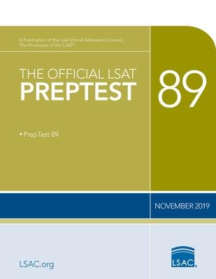 The Official LSAT Preptest 89: (November 2019 Lsat) Cover Image