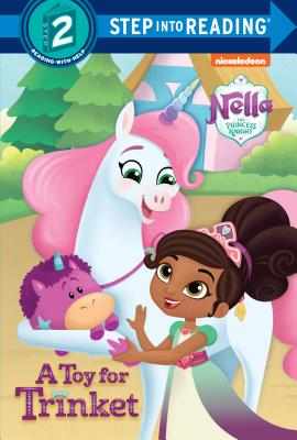 A Toy for Trinket (Nella the Princess Knight) (Step into Reading) Cover Image