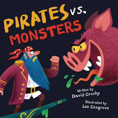 Cover for Pirates vs. Monsters