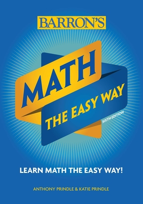 Math: The Easy Way (Barron's Easy Way) Cover Image