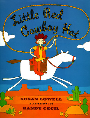 Little Red Cowboy Hat Cover