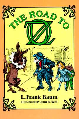 The Road to Oz (Dover Children's Classics) Cover Image
