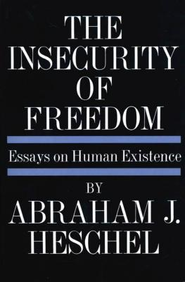 Cover for Insecurity of Freedom