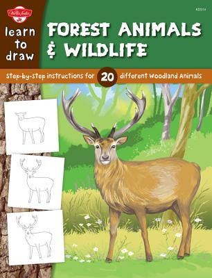Learn to Draw Forest Animals & Wildlife Cover
