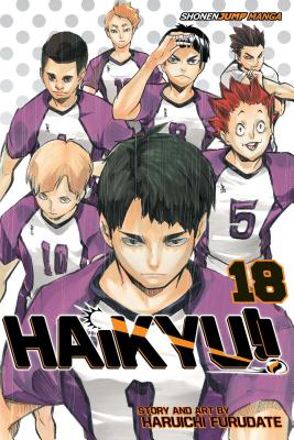 Haikyu!!, Vol. 18: Hope is a Waxing Moon Cover Image