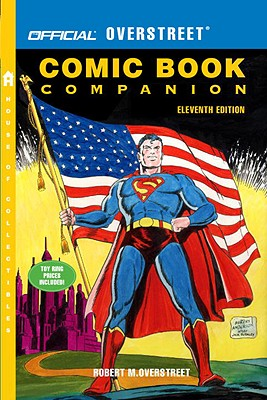 Official Overstreet Comic Book Companion Cover