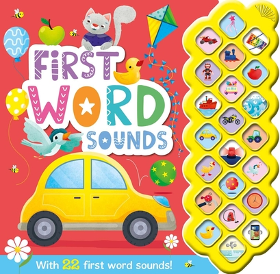 My First Words Sounds: With 22 Sound Buttons Cover Image