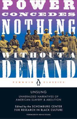Unsung: Unheralded Narratives of American Slavery & Abolition Cover Image