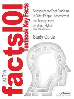 Studyguide for Foot Problems in Older People: Assessment and Management by Menz, Hylton Cover Image