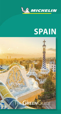 Michelin Green Guide Spain: (travel Guide) Cover Image